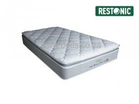 Restonic - Idaho Memory Pillow Top - Single Mattress - 188cm
