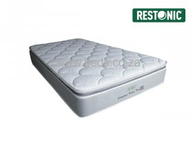 Restonic - California Medium Pillow Top - Three Quarter Mattress - 200cm
